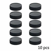 10Pcs 42mm Plastic Rear Cap Cover For M42 42mm Lens Black