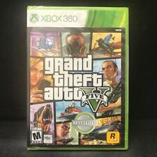 Grand Theft Auto V  GTA 5 (Microsoft Xbox 360) BRAND NEW
