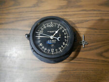 Ww2 Black Chelsea Ships Clock Co. U.S. Navy Works 8�