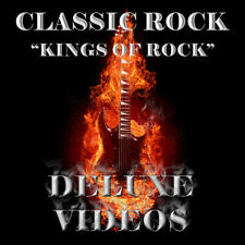 "Classic Rock Music Videos ""Kings of Rock"" Collection (4 DVD's) 80 Music Videos"