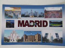MADRID - JUMBO FRIDGE MAGNET - Plaza Mayor, Royal Palace, Plaza de Cibeles, Cast