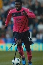 Everton mano firmato yakubu 6x4 Foto.