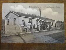CARTOLINA *LA NUOVA AVEZZANO(AQ)* RR. POSTE, TELEGRAFI E TELEFONI-1915-POST CARD