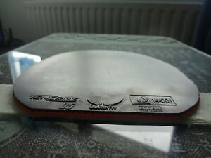 used table tennis rubber BUTTERFLY TENERGY 05 147mm x 150mm