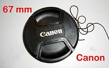 67 mm Lens Cap Compatible Lens Canan Cap Pinch Type UK Seller