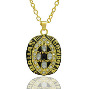 USA Dallas Cowboys 1993 Pendant Necklace Championship Ring Inspired