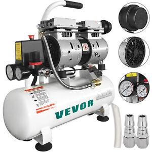Flüster Kompressor Ölfrei Luftkompressor 9L Silent Druckluft Elektromagnetventil