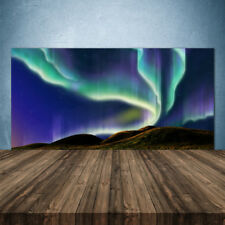 Kitchen Splashback 140x70 Tempered Glass Aurora Landscape
