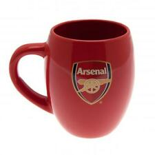 Arsenal Fc Tea Tub Mug Red Football Team Coffee Drinker Cup Crest Club Soccer