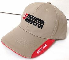 new TRACTOR SUPPLY CO SINCE 1938 HAT Khaki Structured Fit Curved Brim Men/Women