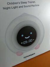 Little Hippo Mella Ready to Rise Children Sleep Trainer Alarm Clock Night light