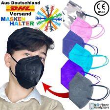 FFP2 Schutz Masken Mundschutz Atemschutzmaske ✅Zertifiziert CE0598✅ Bunte Masken