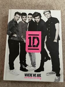 SIGNED One Direction Book - Rare