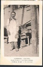 POSTCARD Macedonia Thessaloniki Small Traders The Street Food Vendor c1915