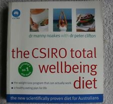 CSIRO Total Wellbeing Diet book Healthy Lifestyle Dr Manny Noakes Cooking Recipe