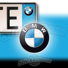 3 ADESIVI targa BMW stickers  auto moto camper