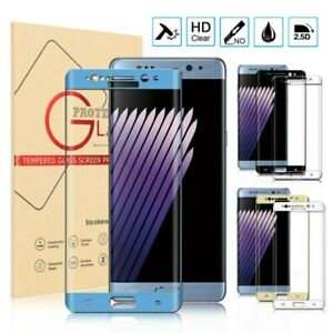 Full Cover Tempered Glass Screen Protector For Galaxy Note7 Note FE Fan Edition