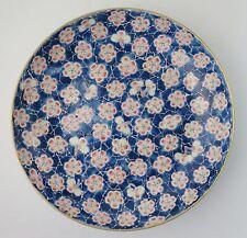 Chinese porcelain Qing Tongzhi cracked ice and prunus blossom shallow bowl c1865