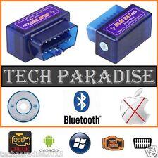 Valise diagnostic diagnostique ELM327 HUD OBDII Bluetooth *Bleu* + CD Français