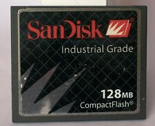 SanDisk Industrial Grade 128MB Compact Flash card.