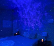 NEW BLUE STARS BlissLights Sky Lite Laser Projector LED Nebula Cloud Night Light