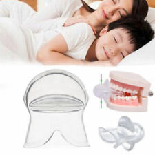Anti Snoring Tongue Device Silicone Sleep Apnea Aid Stop Snore Stopper Sleeve US