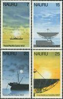 Nauru 1977 SG161-164 Cable and Satellite set MNH