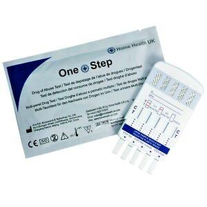 1 x Drug Testing Kit 5 in 1 Urine Test Cocaine Opiates Amphetamine Benzos & More