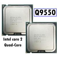 1PC Q9550 CPU QUAD CORES  INTEL CORE 2 QUAD Center Processor Unit 2.8GHz LGA775@