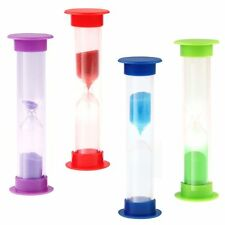 Mini Sandglass Hourglass Sand Clock Toothbrush Game Timer 3 Minutes Time Gift
