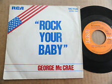 "DISQUE 45T DE GEORGE Mc CRAE   "" ROCK YOUR BABY """