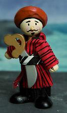Budkins BK981 Pirate Abdul by Le Toy Van Flexible doll - Pirates Range