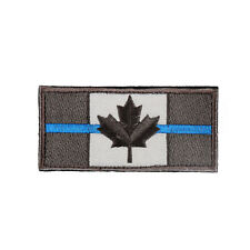 Canada Flag Embroidered Hook Loop Emblem Patch Canadian Maple leaf 9x4cm
