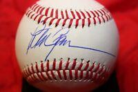PETER GAMMONS AUTOGRAPHED AUTO SIGNED BASEBALL ESPN MLB NETWORK COA