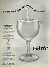G- Publicité Advertising 1969 Eau Minerale Volvic