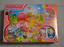 Sanrio Hello Kitty My House Play Set Mini Town Building Toys Suite KT-50021