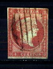 SPAIN - SPAGNA - 1855 - Effigie della regina Isabella II