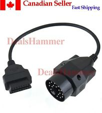 BMW 20 Pin 20Pin To 16Pin Female OBD2 Cable Adapter Interface Connector Car CAN