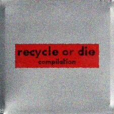 Recycle Or Die Compilation RARE CD TIN BOX '96 DOWNTEMPO AMBIENT TRANCE - TBFWM
