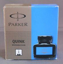 Parker Washable Blue  Bottled Ink 1.9 oz Made in France