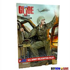 "G.I. Joe GI Jane US Army Female Helicopter Pilot 12"" Figure Blonde Hair NEW"