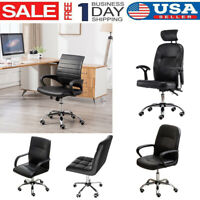 Adjustable Office Computer Desk Executive Chair Task Swivel Mesh Chair Ergonomic