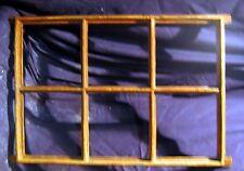 Fenster Spiegel Gussfenster Stallfenster Bilderrahmen 6 Felder, Eckig