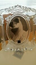 """Mikasa Princess Picture Frame Photo Size 5"""" x 7"""" oval Made in Germany Elegant"""