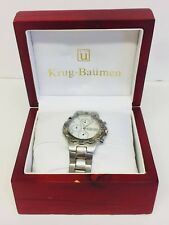 GENTS ZEITNER AQUAGRAPH DIAMOND CHRONOGRAPH WATCH ZM1936 Mother of Pearl Face