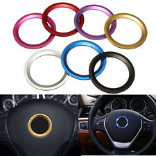 Car Steering Wheel Center Decoration Ring Cover Fit for BMW 1 3 4 5 7 Series
