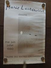 Marie Laurencin; lithographie imprimerie Amigon, Salon - exposition 1980