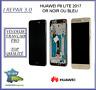 Ecran Lcd Original+Vitre tactile + Chassis Huawei P8 lite 2017 Noir Or ou Bleu
