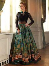 $50 Hot Deal - Delightful Black and Gold Anarkali Dress –  34 36 38 40