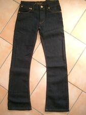 (286) Finger in the Nose Girls Jeans Hose +großen Taschen & Logo Aufnäher gr.176